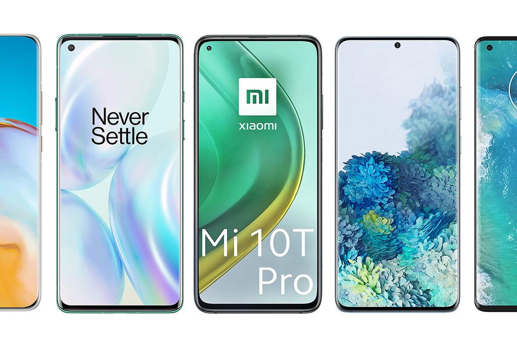Xiaomi Mi 10T Pro, comparativa: así queda contra OnePlus ocho Pro, Galaxy™ S20+, Realme X50 Pro, Huawei™ P40 Pro y resto de gama alta