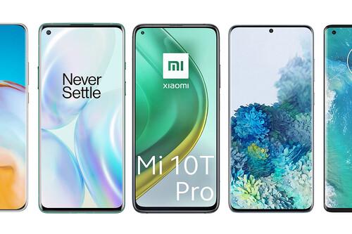 Xiaomi Mi 10T Pro, comparativa: así queda contra OnePlus 8 Pro, Galaxy S20+, Realme X50 Pro, Huawei P40 Pro y resto de gama alta