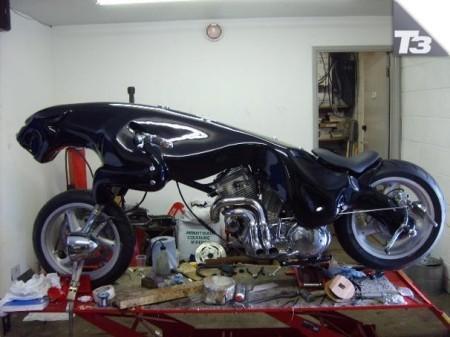 Idea tu moto: la moto Jaguar para fanáticos