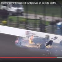 El accidente a 372 km/h del que Sebastien Bourdais salió vivo