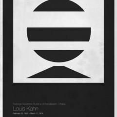 Foto 6 de 6 de la galería six-architects-posters-minimalistas-de-grandes-arquitectos en Decoesfera