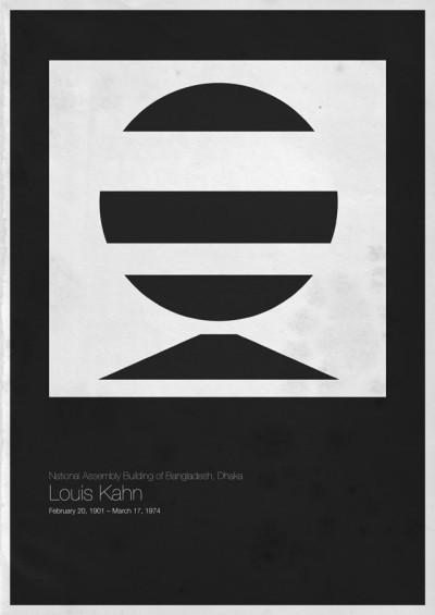 Foto de Six Architects, pósters minimalistas de grandes arquitectos (6/6)