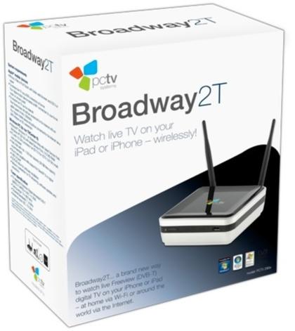 PCTV Broadway 2T, sintonizador de televisión que te permite enviar la señal a través de tu red local