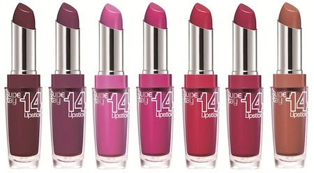 Maybelline New York presenta su nueva barra de labios: Superstay 14th
