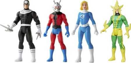 Figuras de Marvel retro en Amazon México