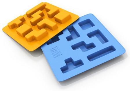 Tetrice: Crea cubitos de hielo con la forma de las piezas del 'Tetris'