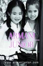 Polémica campaña de Armani Junior