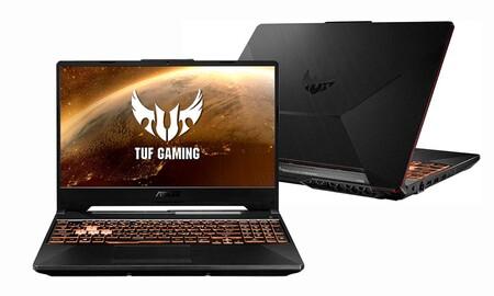 Este equilibrado portátil gaming de gama media te sale ahora 185 euros más barato en Amazon: ASUS TUF Gaming F15 FX506LH-BQ030 por 999 euros