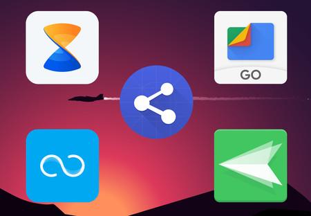 11 aplicaciones para compartir archivos entre móviles Android, iOS o con el PC