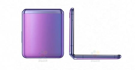 Samsung Galaxy Z Flip Filtracion Detalle Plegado