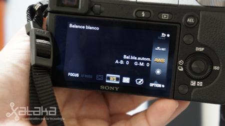 Sony NEX 6 análisis Fn