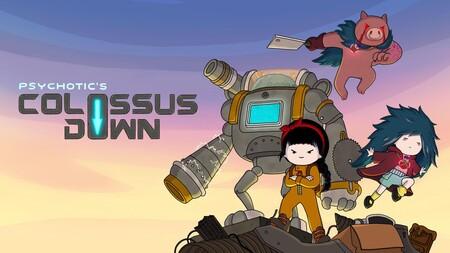 Análisis de Colossus Down, un beat 'em up diferente, con dos niñas de armas tomar