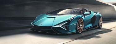 El Lamborghini Sián Roadster es un superauto híbrido de 819 hp, tan exótico que sólo hay 19 (y ya no queda ninguno)