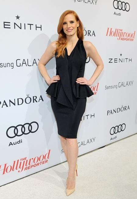 El vestido corto, el rey de la velada Hollywood Reporter Nominees'