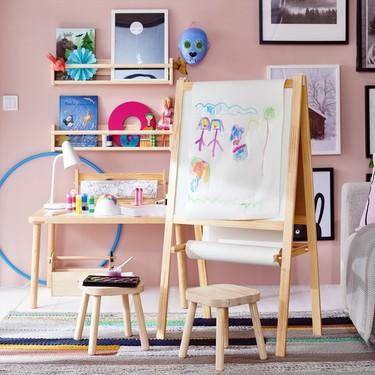 Cómo organizar un rincón para hacer manualidades con los niños, bonito, práctico y sencillo