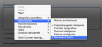 Cómo utilizar la función de sustitución de texto de Mac OS X Lion