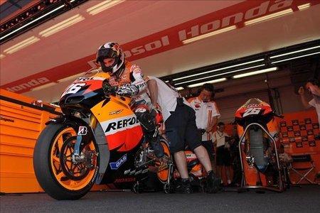 MotoGP Italia 2010: Pedrosa se hace con la segunda pole de la temporada