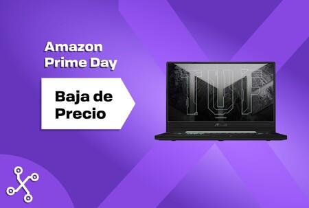 El portátil gaming Asus TUF Dash F15 con gráfica RTX 3060 cuesta ahora menos de 1.000 euros en el Prime Day de Amazon