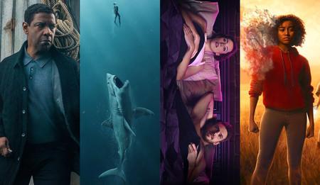Estrenos de cine: violentos justicieros, tiburones gigantes y relaciones abiertas