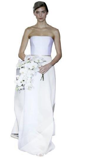 998fd53fd Carolina Herrera, Colección Vestidos de novia 2012