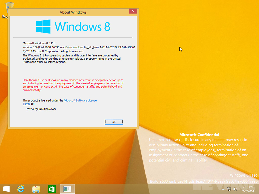 Foto de Capturas de pantalla Windows 8.1 Update 1 (7/9)