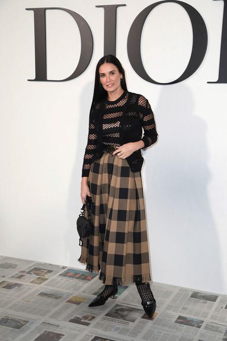 Demi Moore Dior