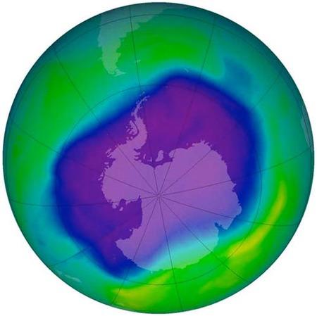 La recuperación de la capa de ozono contribuye al cambio climático