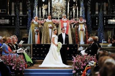 Boda de la Princesa Victoria de Suecia: el vestido de novia de la Princesa Victoria y todas las invitadas