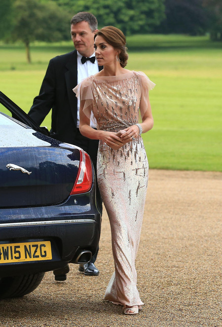 kate middleton vestido gala