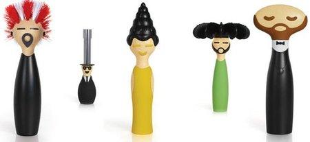 Los utensilios de cocina más animados por Christopher Raia