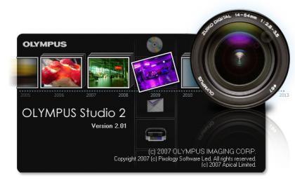 Olympus Studio 2.0, software para el tratamiento digital de las imágenes