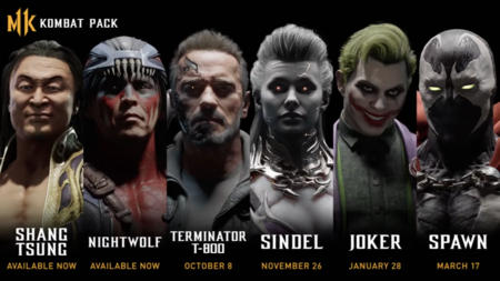 Terminator, Joker y más luchadores se unirán a la fiesta de los fatalities en Mortal Kombat 11