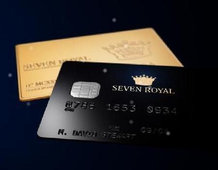 Visa Seven Royal, la doble tarjeta de crédito de la nueva Elite
