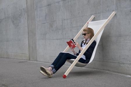 Curt Deck, una hamaca elegante y minimalista