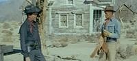 'Desafío en la Ciudad Muerta', Robert Taylor contra Richard Widmark