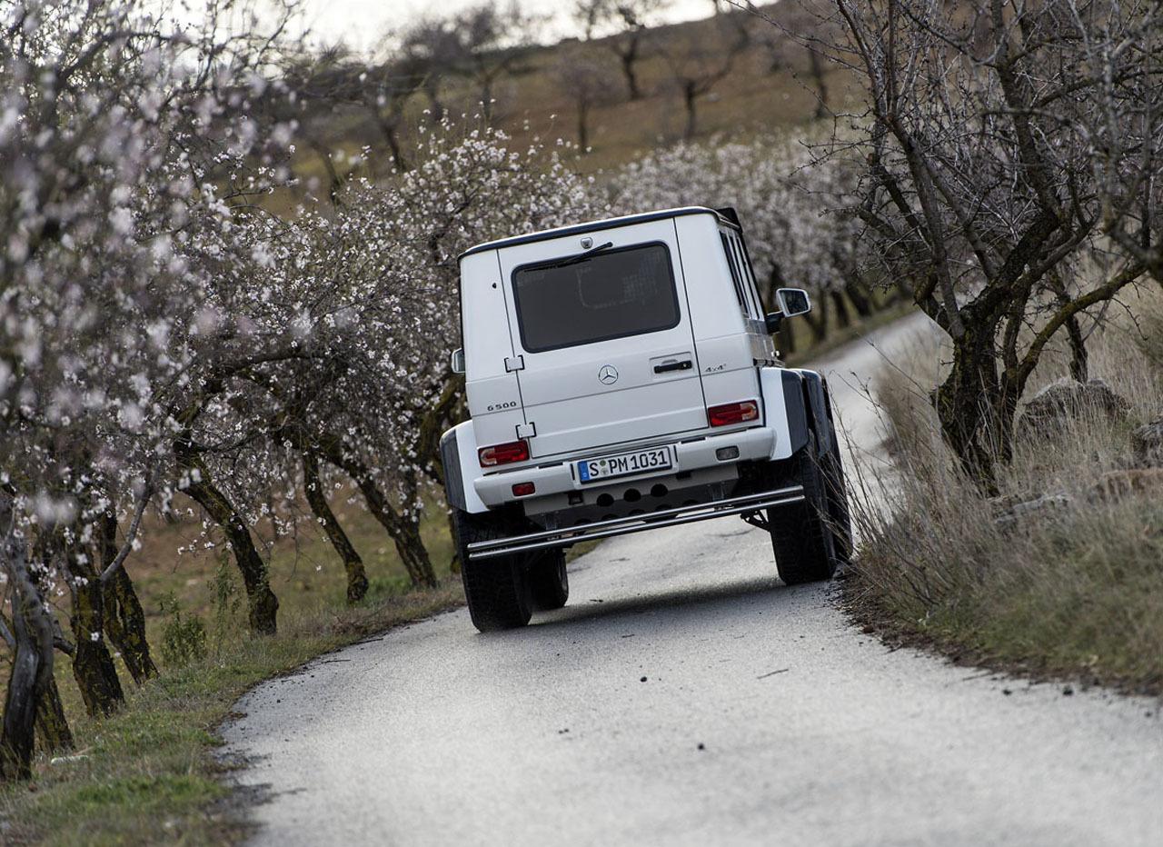 Foto de Mercedes-Benz G 500 4x4², toma de contacto (27/127)
