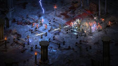 Diablo 2 Resurrected Combate