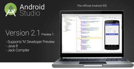 Android Studio 2.1 añade previa y soporte para el androide N