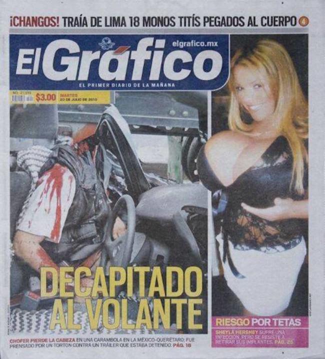 La nota roja mexicana m s de cien a os del periodismo m s for Revista primicias ya hoy