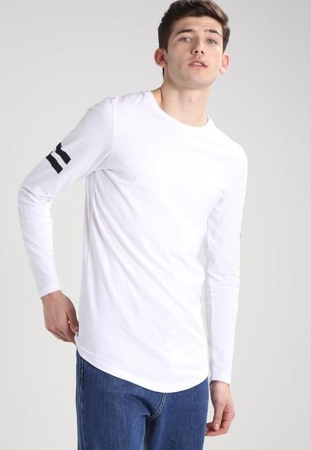 60% de descuento en la camiseta de manga larga Jconewherman Slim Fit de Jack & Jones: ahora sólo 7,20 euros en Zalando