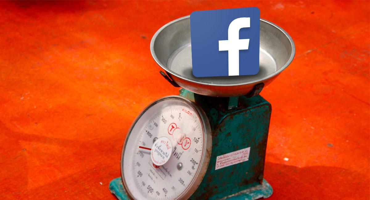 ¿Por qué ocupa tanto la aplicación de Facebook?