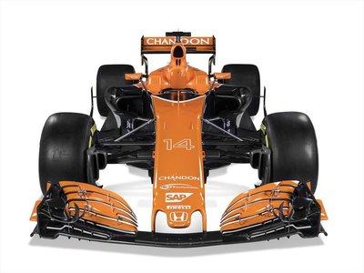 Se terminó la era del MP4. McLaren presentó el nuevo MCL32 con el que competirá en la F1 durante 2017