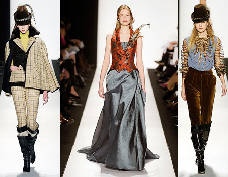 Carolina Herrera en la Semana de la Moda de Nueva York otoño-invierno 2008/09