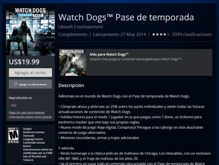 Watch Dogs Pase De Temporada