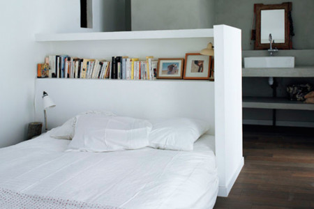 13 originales cabeceros de cama para darle otro aire al - Cabeceros de obra ...