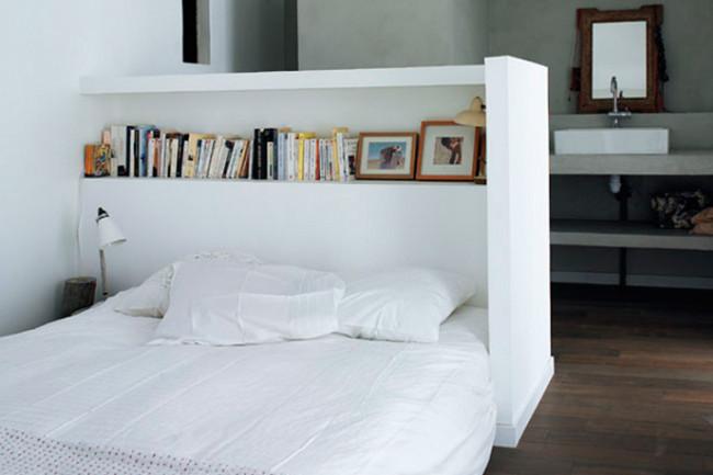 13 innovadores y envidiables respaldos de cama goplaceit - Camas de obra ...