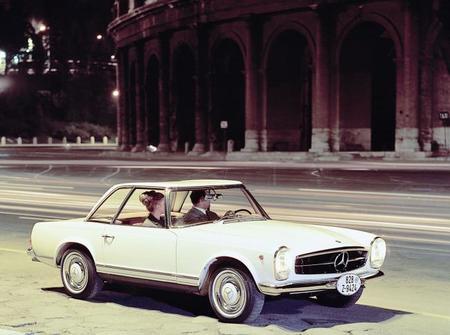 El Club Mercedes-Benz España homenajeó al Pagoda