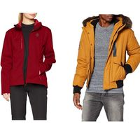Ofertas en abrigos y chaquetas de invierno: tallas sueltas The North Face, Superdry o Berg disponibles en Amazon