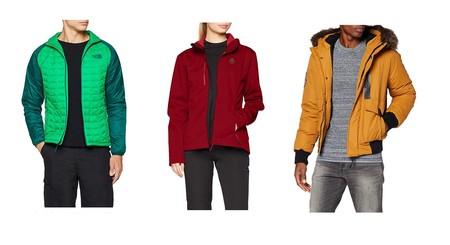 Ofertas en abrigos y chaquetas de invierno: tallas sueltas The North Face, Superdry o Berg disponibles en Amazon