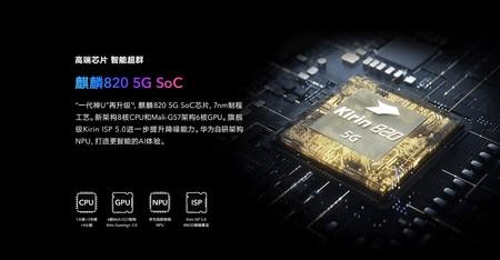 Huawei Hisilicon Kirin 820 5g 2